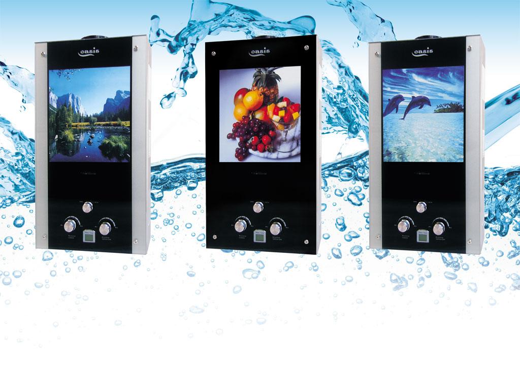Проточные водонагревательные колонки