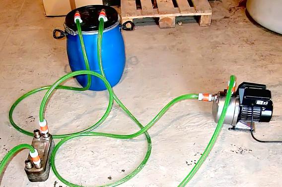 Устройство для промывки теплообменников своими руками