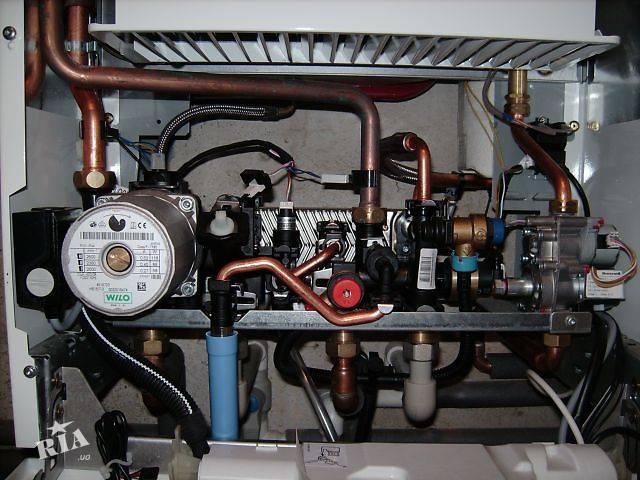 Начинка отопительного агрегата