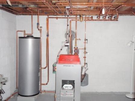 Система отопления на основе Vitorond