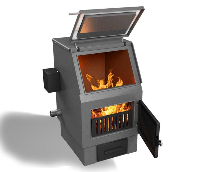 Агрегат на твердом топливе